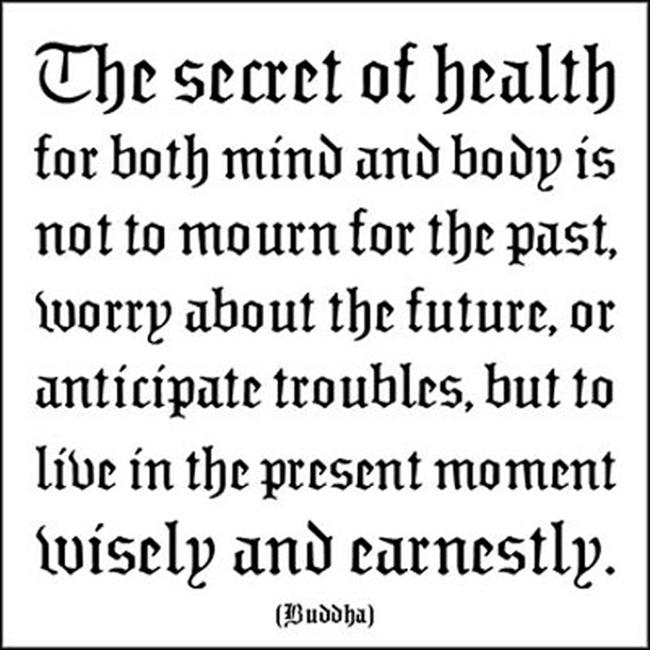 Buddha Quote  - Live