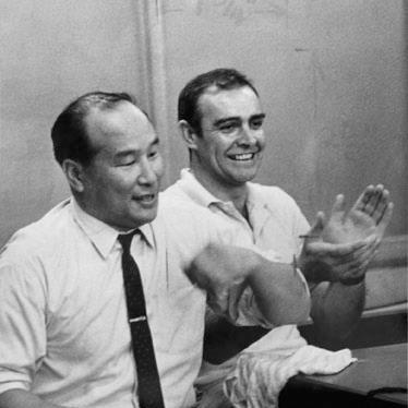 MasOyama-and-SeanConnery