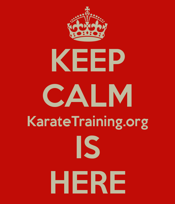keep-calm-karatetrainingorg-is-here