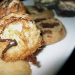 coconut-cookies (Coconut Balls with Chocolate Drizzle)