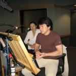 20051006-JackieChan_DubbingStudio (Jackie Chan — New Police Story and more…)
