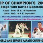 20060809-DavideBenetelloStageenPeru (Top of Champion's 2006)